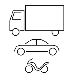 Vehicles vector