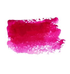 Watercolor blot vector image vector image