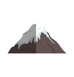 Fuji mount japanese icon vector
