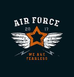 air force emblem vector image