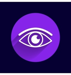 Eye icon vision symbol look graphic vector