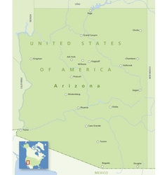 Usa arizona small vector