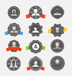 Avater icons vector