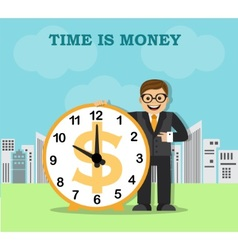 Time and work in the big city vector