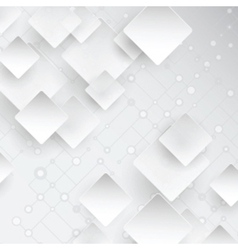 Abstract background with lattice and squares vector image