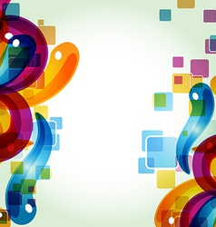 colorful abstract eps10 vector image