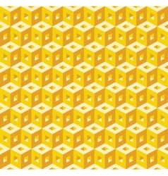 seamless texture of cubes vector image vector image