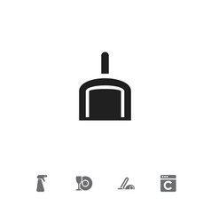 Set of 5 editable cleanup icons includes symbols vector