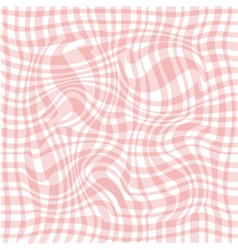 Abstract pink waved background vector image