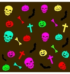 Abstract background Halloween vector image vector image