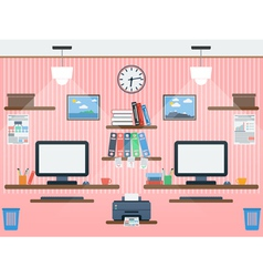 Common workspace vector image