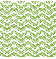 greenery chevron seamless pattern background vector image