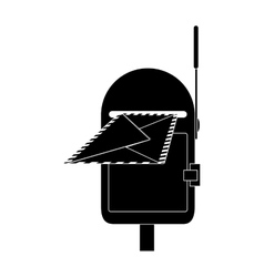 Mailbox outdoor icon image vector