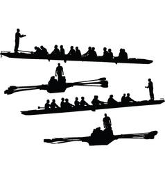Rowings - vector