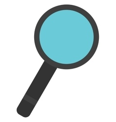Classic magnifying glass vector