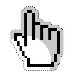 hand pointer cursor icon vector image vector image