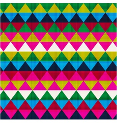 seamless triangle background texture vector image