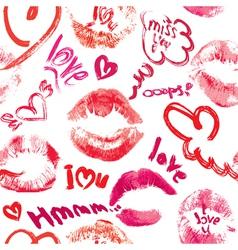 lips love seaml 2 380 vector image