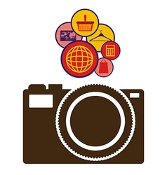 Internet icon design vector