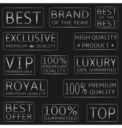 Best price icons vector image