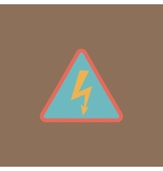 High voltage - vector image
