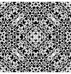 Lace ornament vector image