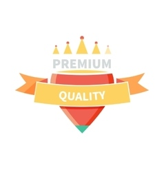 Sale Badge Premium Quality Design vector image vector image