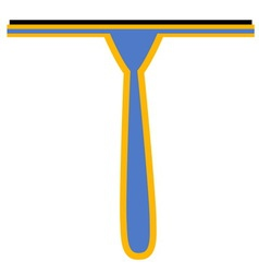 Window squeegee vector