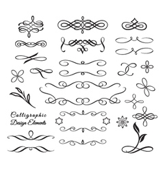 Arabesque Decorative Elements vector image