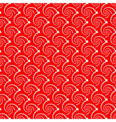 Design seamless red helix diagonal background vector
