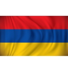 Flag of Armenia vector image