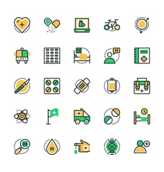 Medical and health icons 3 vector