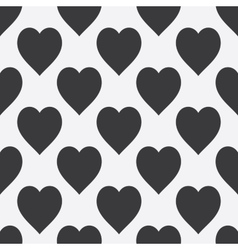 Abstract seamless monochrome pattern vector