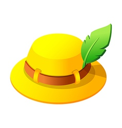 Icon hat vector