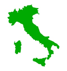 Map of italy vector