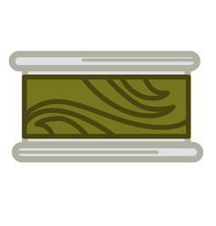 Preserved green seaweed vector