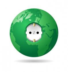earth power EU vector image