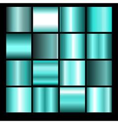 Azure gradient backgrounds vector
