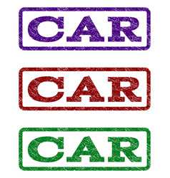 Car watermark stamp vector