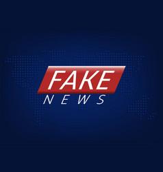 Fake news vector