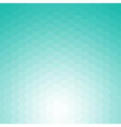 Happy abstract aquamarine geometric background vector