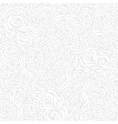 Seamless frost white pattern vector