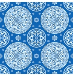 Luxurious mediterranian vintage seamless pattern vector