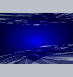 abstract blue wave background graphic design vector image vector image