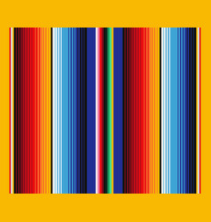 Mexican blanket stripes seamless pattern vector