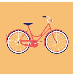 Bike for the city vector