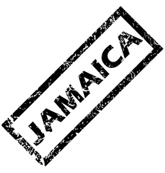Jamaica stamp vector