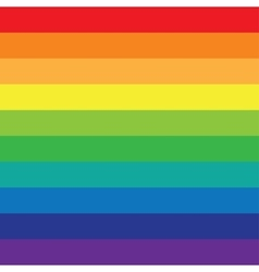 Rainbow background of colored lines vector