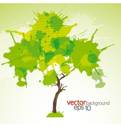 Abstract green background eps10 vector