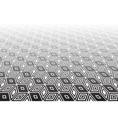 Op art geometric background vector image vector image